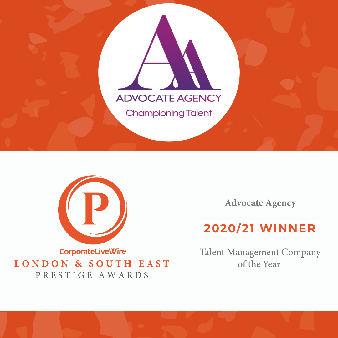 Advocate Agency Talent Management Company of the year Prestige Awards